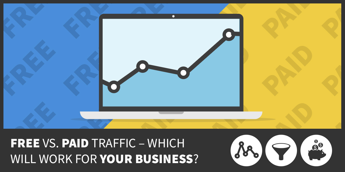 Free vs. Paid Traffic – Which will Work for Your Business?